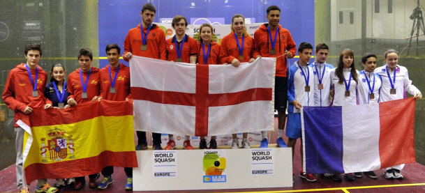 Richie Fallows is crowned double European Champion