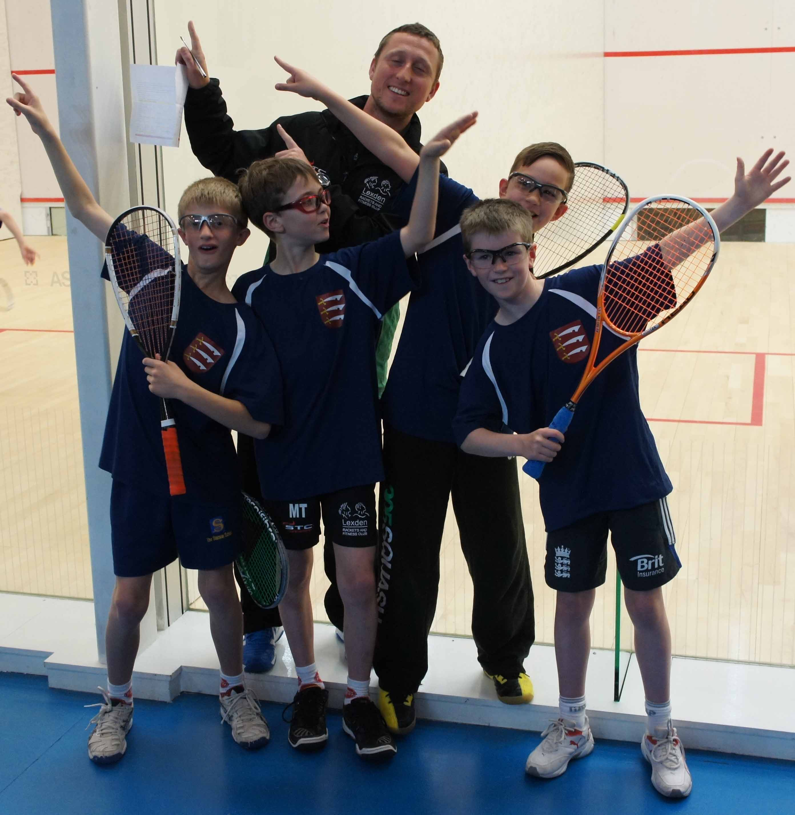 LEXDEN'S FAB 4 finish second at England U-11 Festival