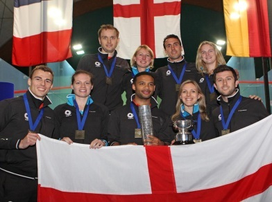 Selby and Barker help England to European crown
