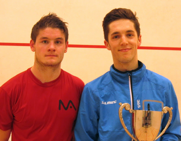 Ben bags second PSA win with Ipswich title