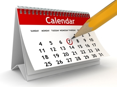 Full list of Junior events in our 2014/15 calendar