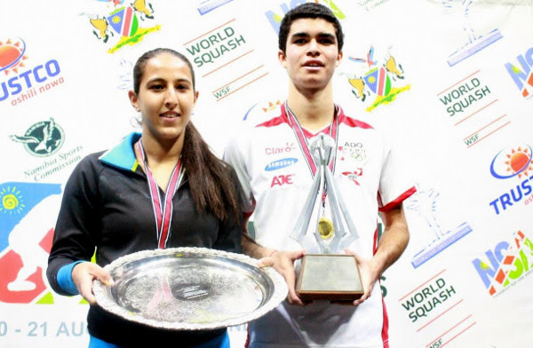 Diego and Habiba power to world junior titles