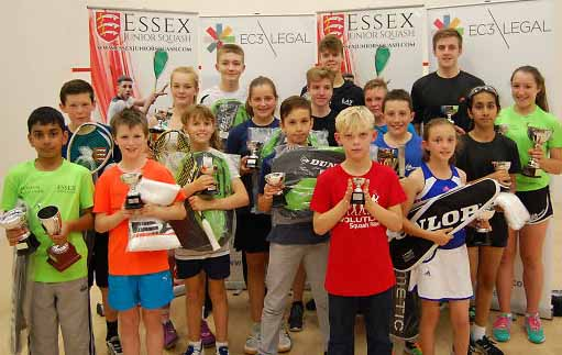 Essex Closed delivers its promise of super squash weekend