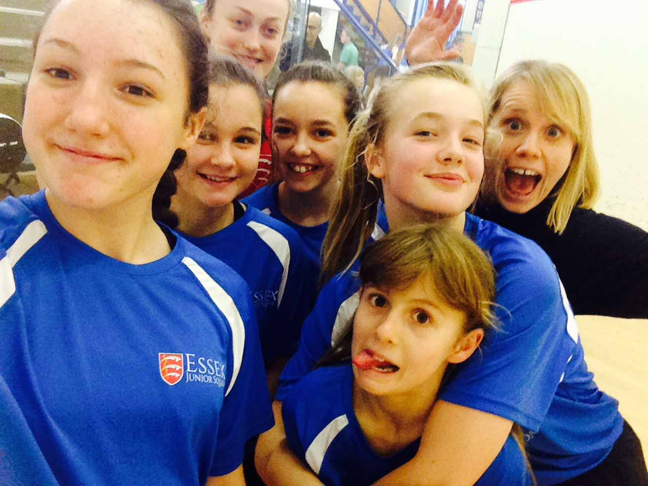 Girls power their way to National Finals