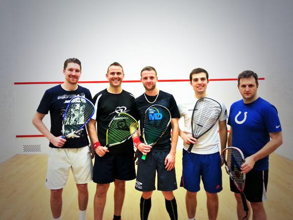 Racketball men seal place in Premier League play-offs