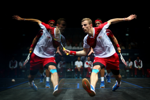 Take it to the limit…How Nick Matthew trains for squash
