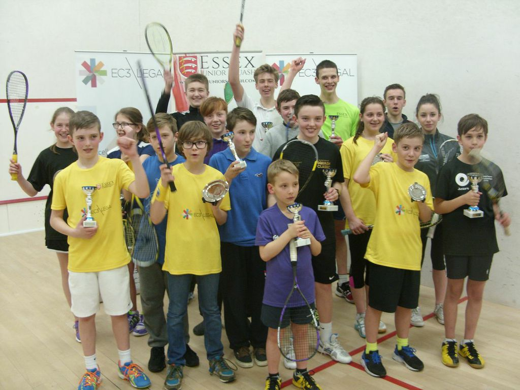 Essex Junior Open showcases massive resurgence in squash