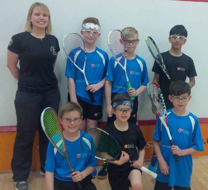 Essex players feature in YouTube Squash promo