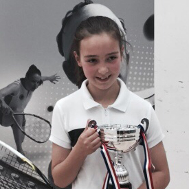 EMMA IS OFF THE WALL SQUASH PLAYER OF THE MONTH FOR JUNE