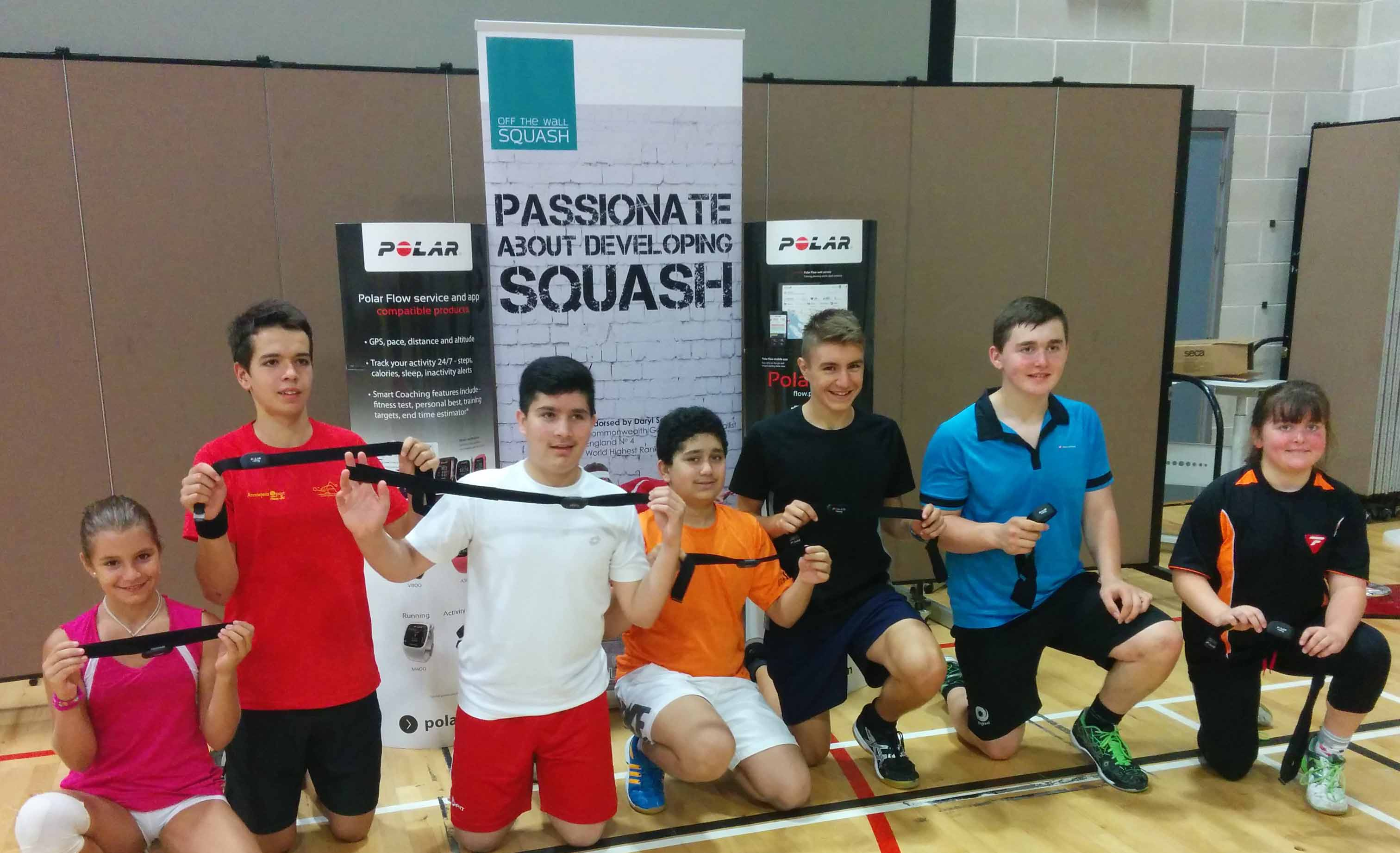 Off The Wall Squash and Polar Announce Partnership