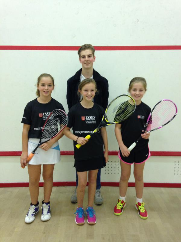 Mikayla, Alice and Brooke do Essex proud at Luton