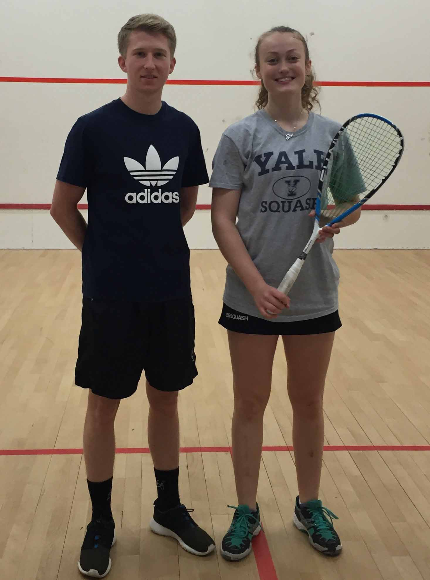 Elise and Jack lift national Racquetball title