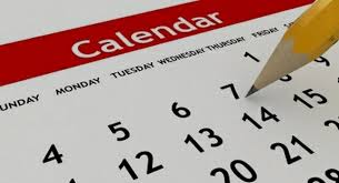WHAT'S ON…ALL YOUR DIARY DATES FOR 2016