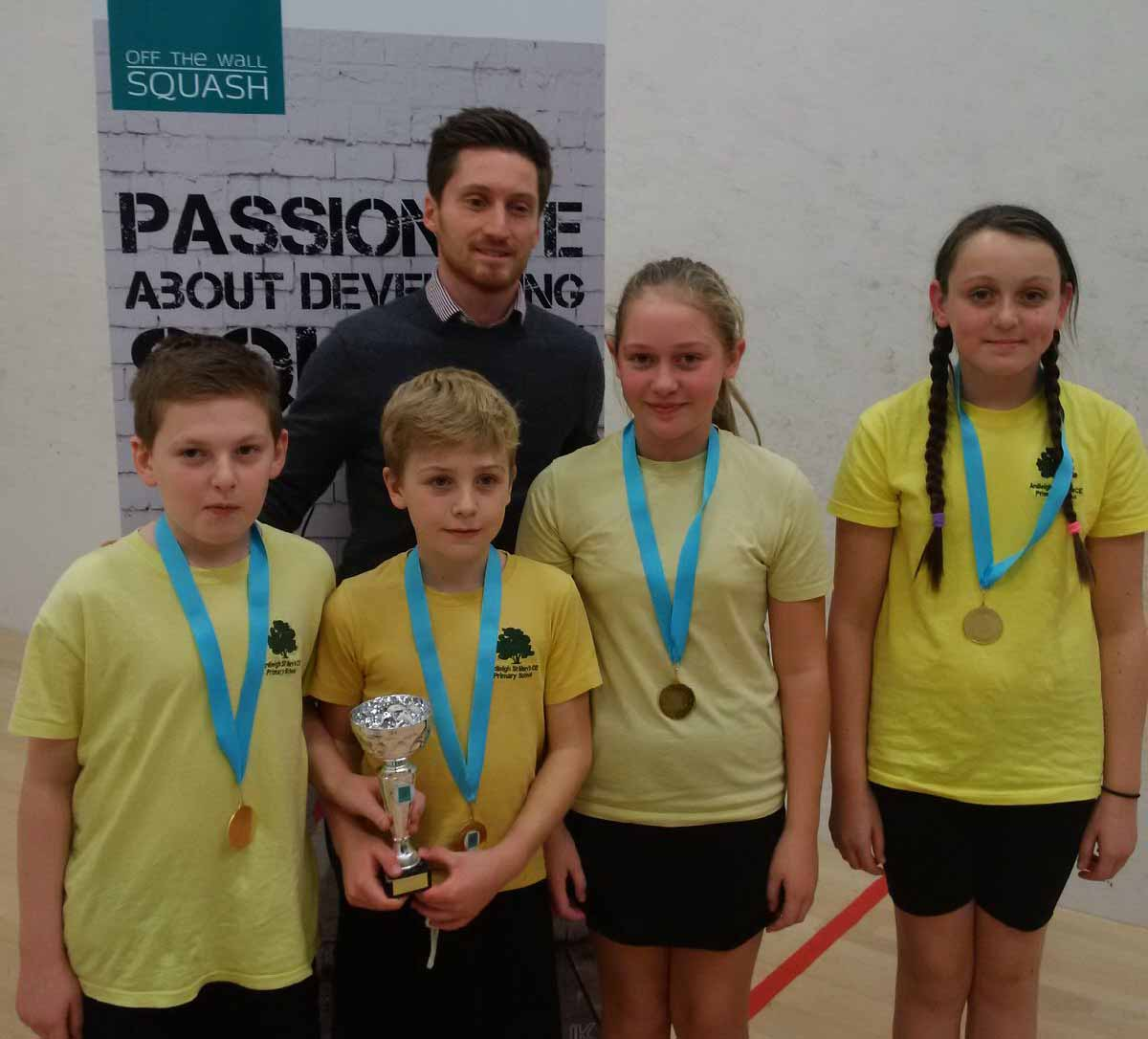 SCHOOLS SQUASH FINALS RAISE THE ROOF AT COLCHESTER GARRISON