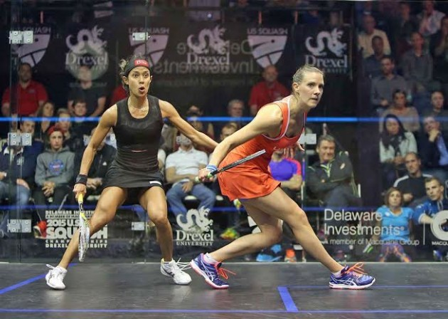 Laura Massaro hits world number one spot