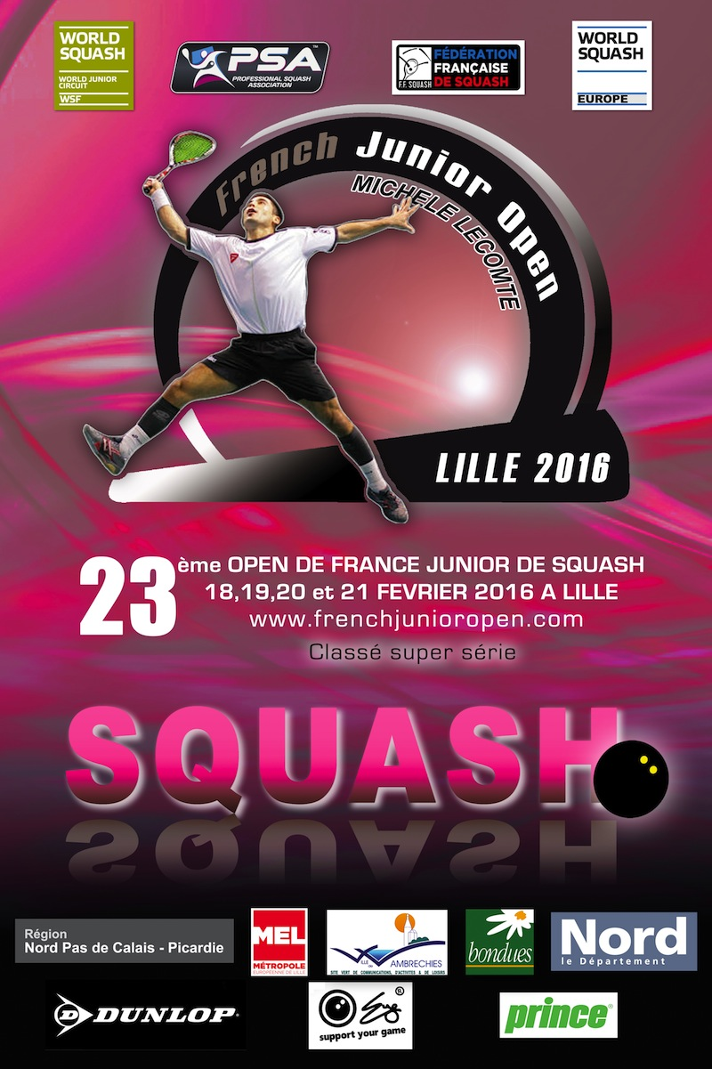 Essex foursome in action at French Junior Open