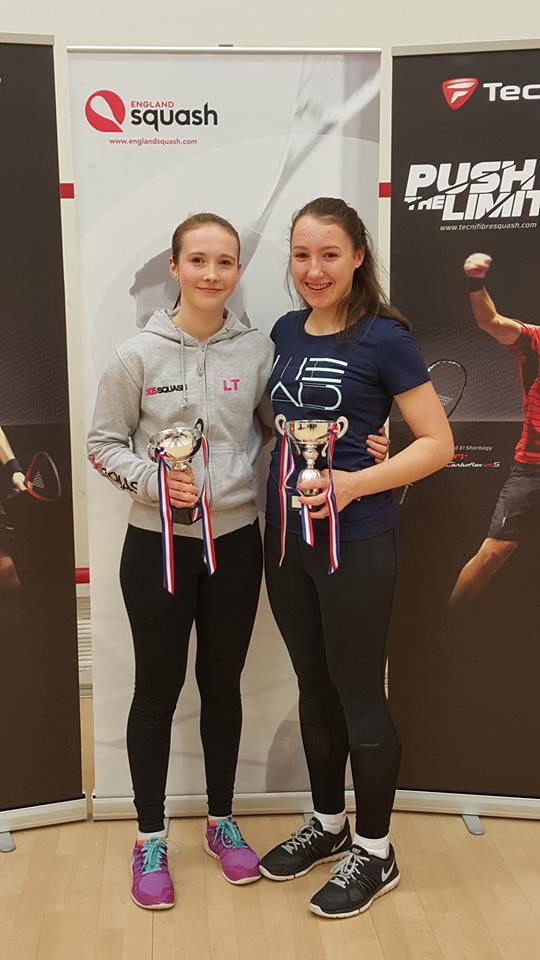 Alice Green and Lucy Turmel claim English titles at Edgbaston Priory
