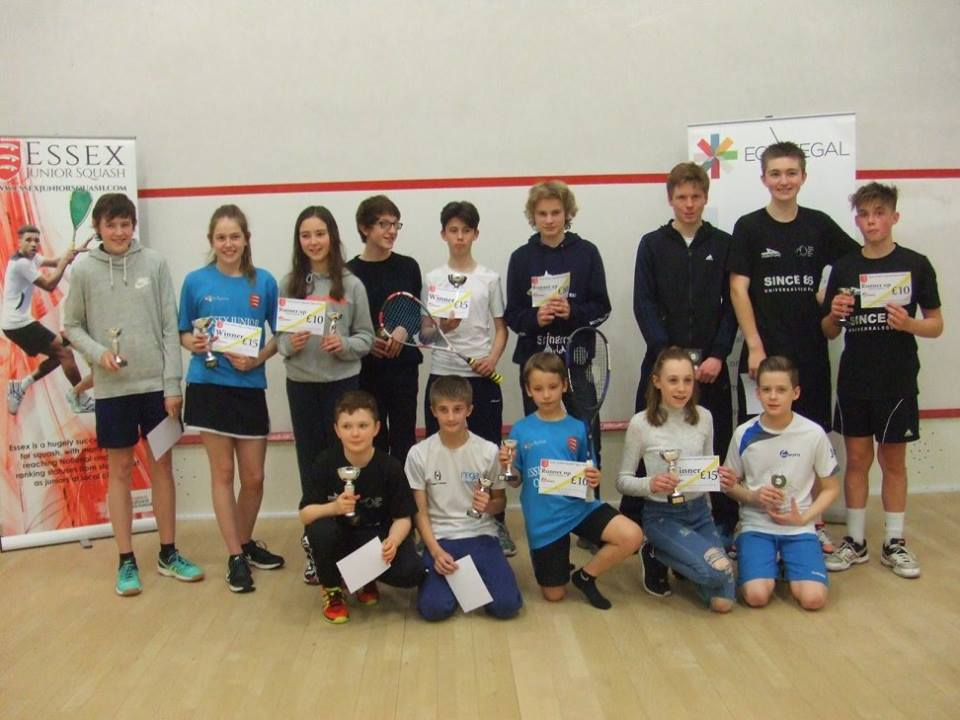 Essex Junior Open delivers on promise of super squash weekend