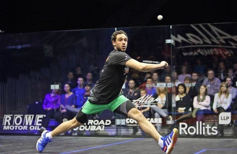 Ramy Ashour and Gregory Gaultier avoid early exits at British Open