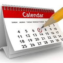 Important dates for your squash diary