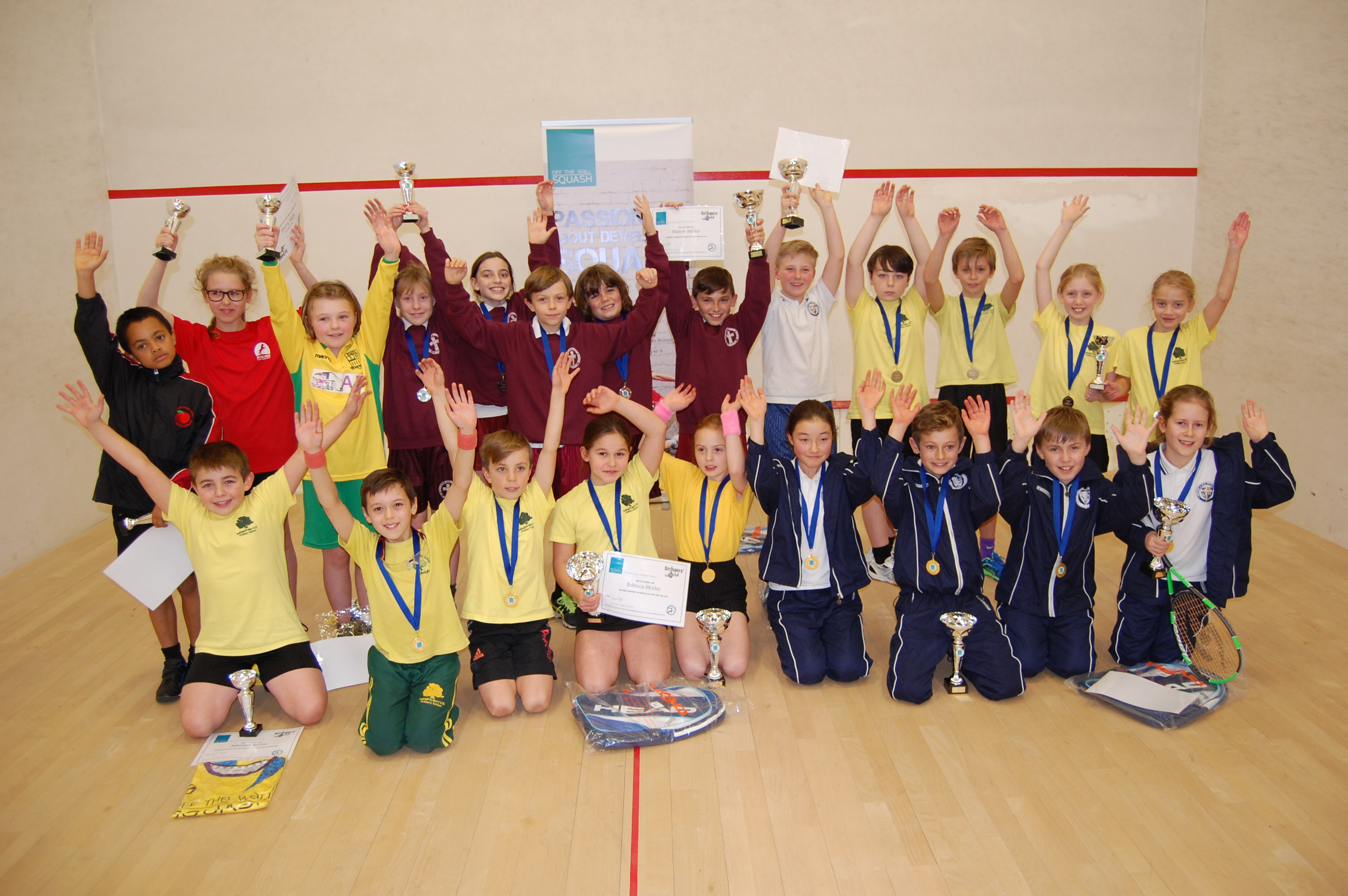 Roman Cup schools' event delivers thrilling finale