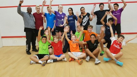 British Open finalist Elise gets a hero's return from club mates