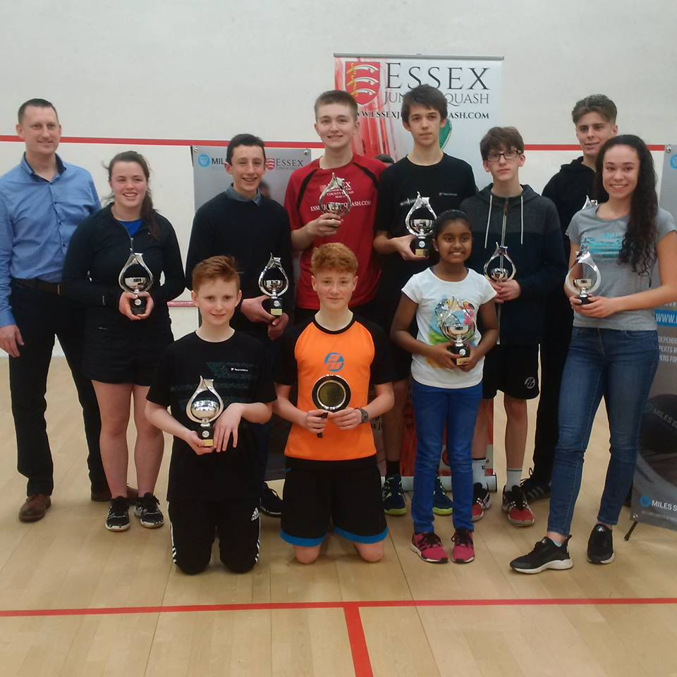 Essex Junior Open winners are simply GR-EIGHT