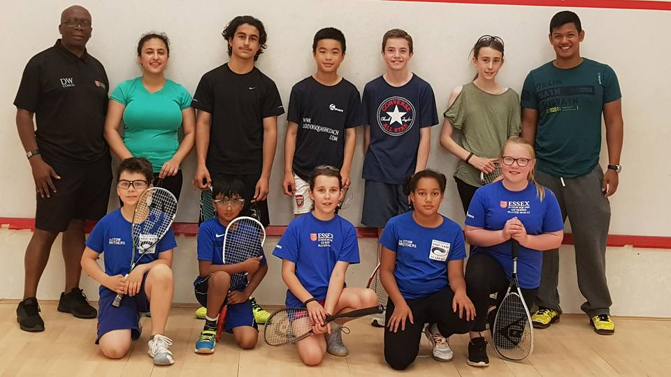 Essex open trials day attracts new batch of young squash talent