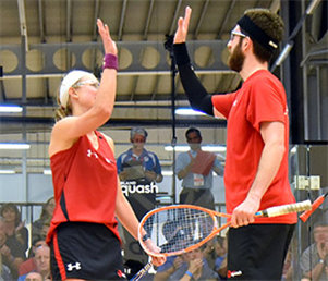 Daryl helps England to medal haul at world doubles