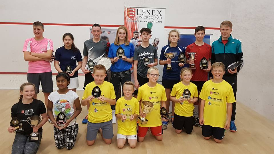 Essex Junior Closed draw…including our first Under-9's event