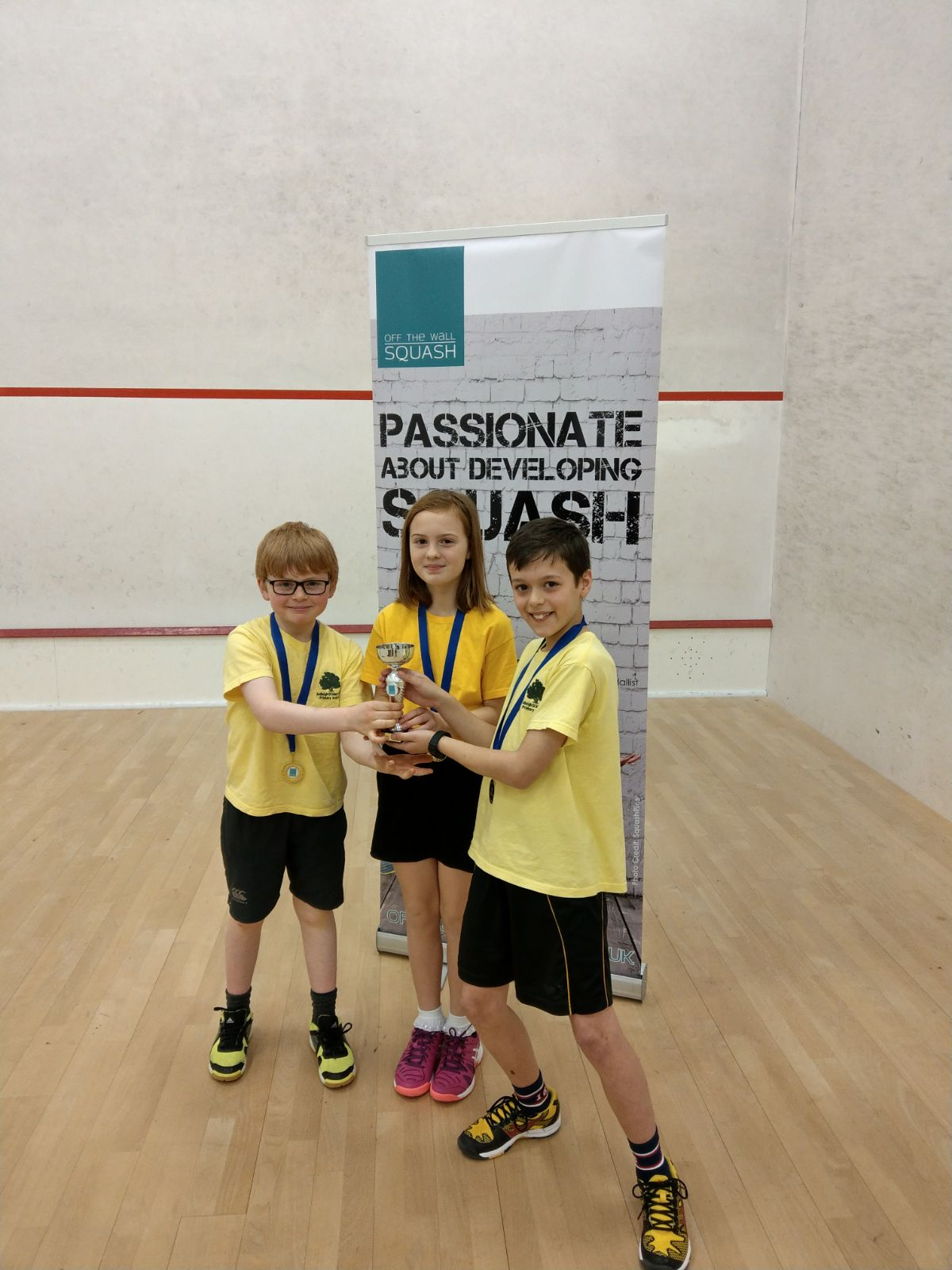 Lawford and Ardleigh capture Off The Wall Squash Roman Cup crowns