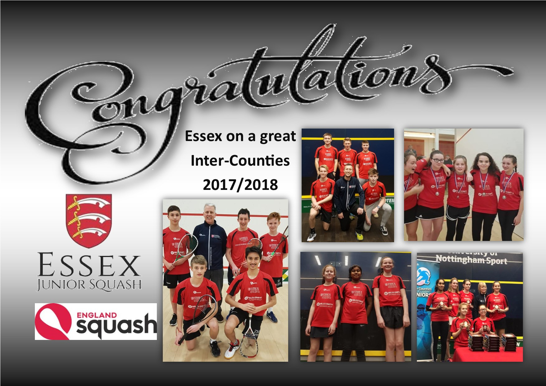 Essex juniors bring home medals and memories from Inter-County Finals