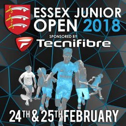 ESSEX JUNIOR OPEN DRAWS AND SCHEDULES ANNOUNCED