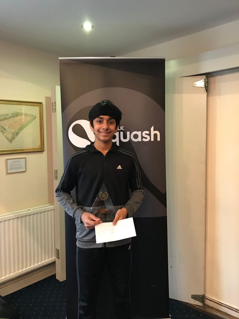 Yusuf Sheikh leads the Essex junior charge at Ipswich Silver