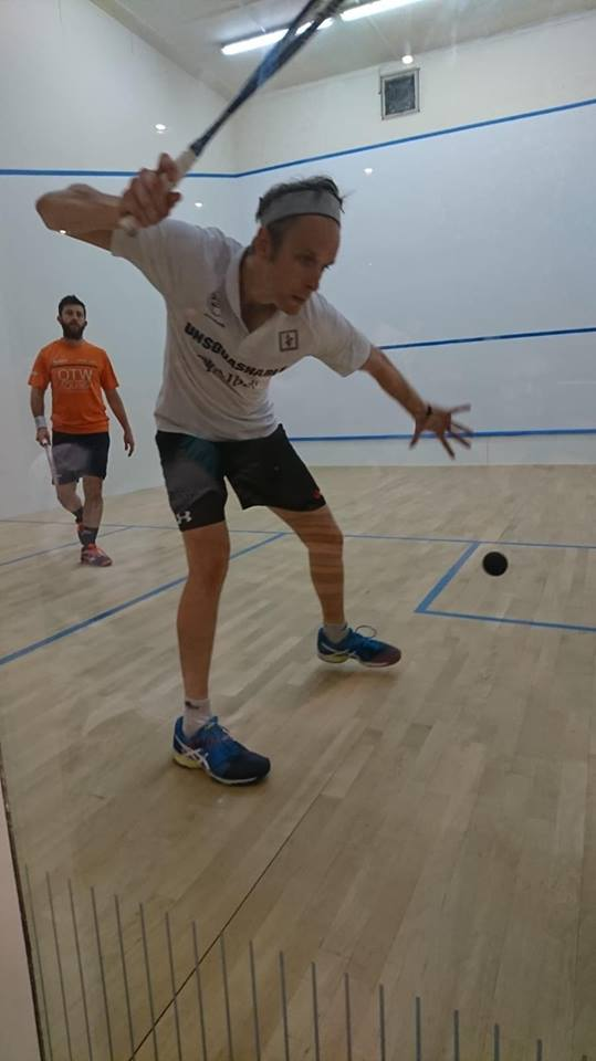 Willstrop and Selby put on amazing night of squash at Lexden