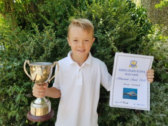 By George, master Woodhead lands top school award