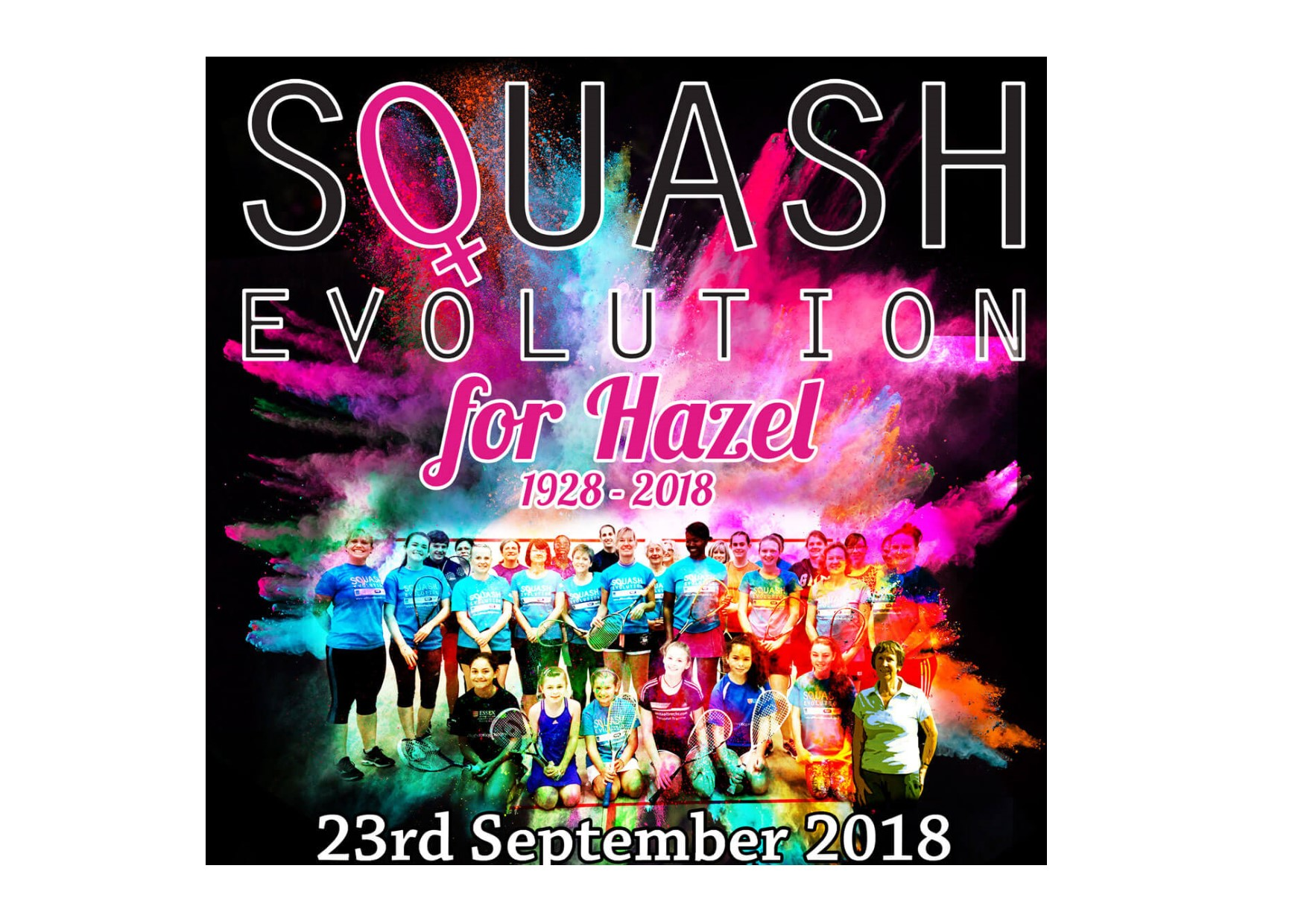 Time to enter Essex ladies tournament to honour squash legend Hazel