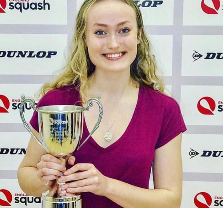 Elise Lazarus claims sixth national title after all-Essex U-19 final