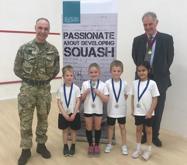 Roman Cup at The Garrison showcases amazing boom in schools squash in Colchester