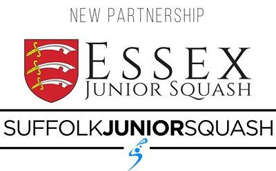 Essex Junior Squash form training partnership with Suffolk