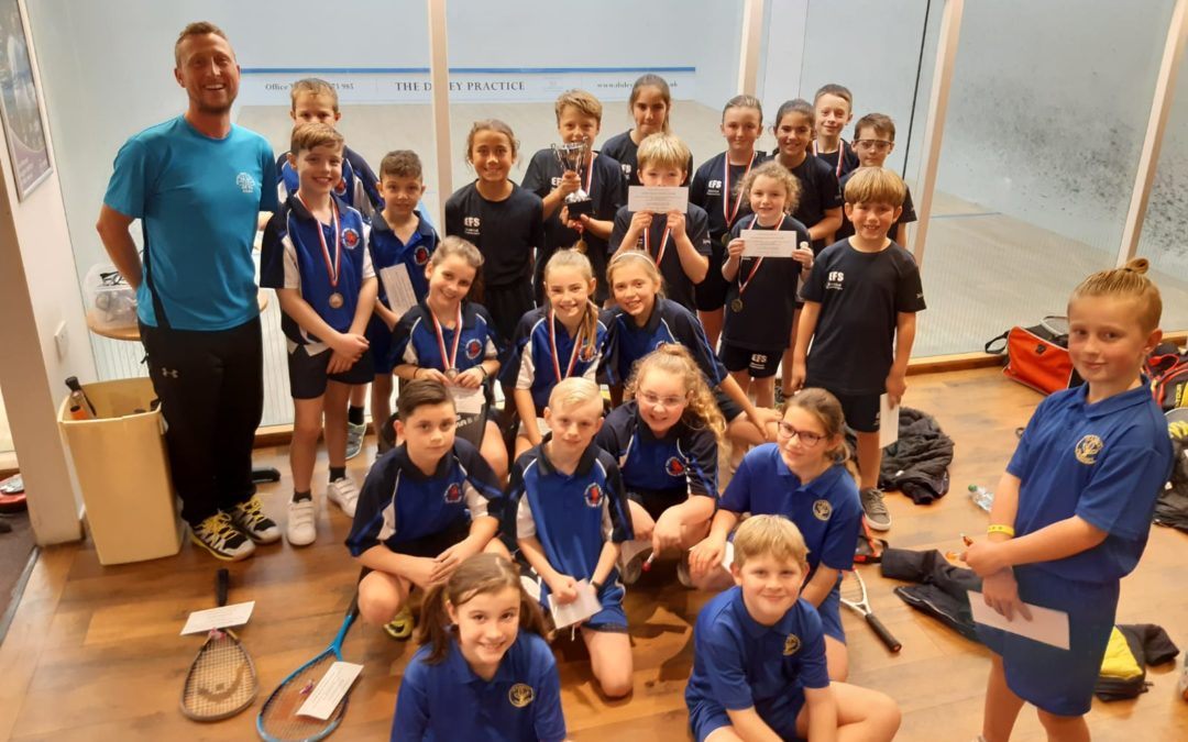 EFS Mersea team win Year 5 & Year 6 Lexden Cup