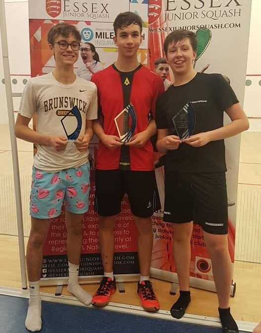 Norwegian players help make Essex Junior Open 2020 a resounding success