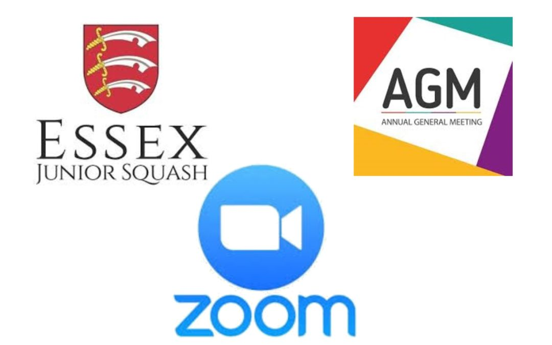 Join the Essex Junior Squash AGM via Zoom