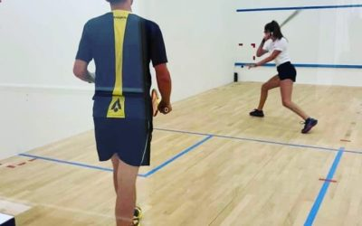 How coach Paul Allen and Lexden Squash & Rackets are overcoming the challenges of Covid lock down