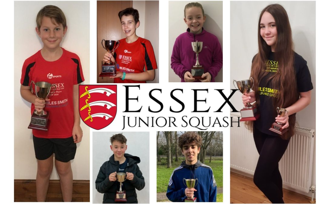 Meet the Essex Junior Squash Grand Prix winners 2019-2020