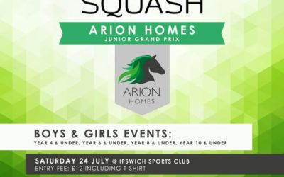 Register now for Off the Wall Squash Junior Grand Prix event